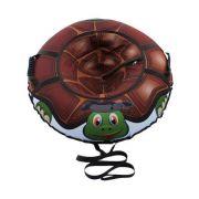 Тюбинг Митек Русская черепаха 95 см коричневый/зеленый