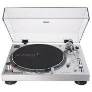 Виниловый проигрыватель Audio-Technica AT-LP120XUSB серебристый