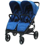 Коляска для двойни и погодок Valco Baby Snap Duo Ocean Blue