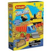 Конструктор 'Building Kinetic' набор с бульдозером и грузовиком Кроха 754