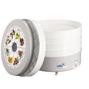 Сушилка для овощей и фруктов Ротор СШ-002-06 5 поддонов белый