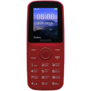 Телефон Philips Xenium E109 Red