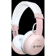 Bluetooth-гарнитура Bron HDW10 (розовая)