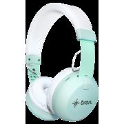 Bluetooth-гарнитура Bron HDW10 (бирюзовая)