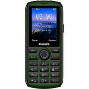 Мобильный телефон Philips Xenium E218 Dual sim Green