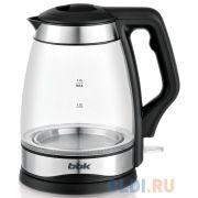 Чайник электрический BBK EK1728G 2200 Вт чёрный 1.7 л стекло