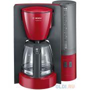 Кофеварка Bosch TKA6A044 1200 Вт красный