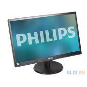 Монитор 21.5' Philips 223V5LSB/00(01) Black Hairline WLED, 1920x1080, 5ms, 250 cd/m2, 1000:1 (DCR 10M:1), D-Sub, DVI, vesa