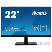 Монитор 22' iiYama XU2294HSU-B1 черный VA 1920x1080 250 cd/m^2 4 ms HDMI DisplayPort VGA Аудио USB