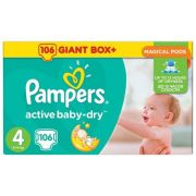 Pampers Active Baby-Dry 4