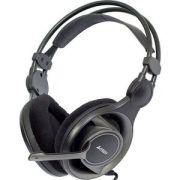 Гарнитура A4Tech HS-100 черный/серый