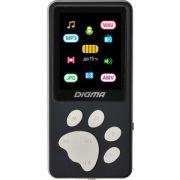 MP3 плеер Digma S4 8Gb black/grey