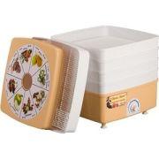 Сушилка для овощей Ротор СШ-010 5 поддонов, цветная упаковка, квадратная